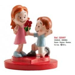 Namorados em Cerâmica