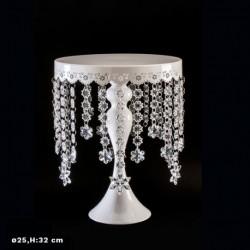 Prato Branco c/ Diamantes - 342033