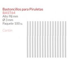 Pauzinhos P/Chupas - BAST 64