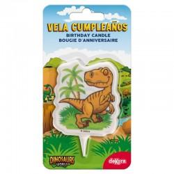 Vela 2D Dinossauro - 345386