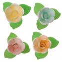 Flores Sortidas com folhas Verdes - 126088
