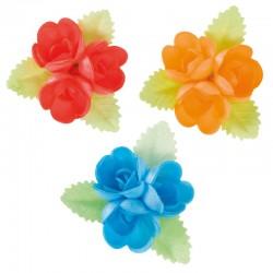 Flores Sortidas com folhas Verdes - 126137