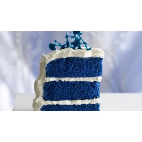 Liz Soft Cake Blue Velvet