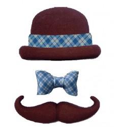 Chapéus C/ bigode C/18